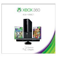 Microsoft Xbox 360 4GB Kinect Holiday Bundle