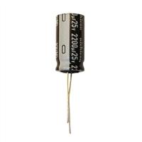 MCM Electronics MC10-0016 2200UF 25V Radial Capacitor - 2 Pack