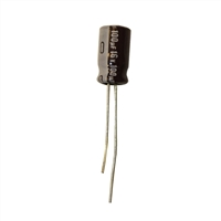MCM Electronics MC10-0060 100UF 16V Radial Capacitors - 2 Pack
