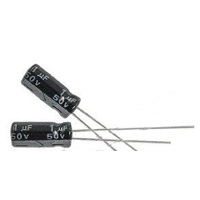 MCM Electronics MC10-0084 1UF 50V Radial Capacitors - 2 Pack