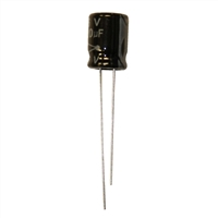 MCM Electronics MC10-0124 220UF 16V Radial Capacitors - 2 Pack