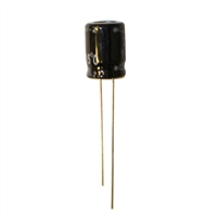 MCM Electronics MC10-0212 100UF 25V Radial Capacitors - 2 Pack
