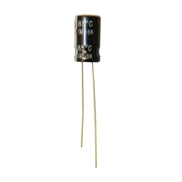 MCM Electronics MC10-0236 100UF 25V Radial Capacitors - 2 Pack