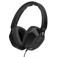 Skull Candy Crusher Over Ear Headphones - Black
