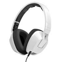 Skull Candy Crusher Over Ear Headphones - White