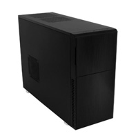 Nanoxia Deep Silence 2 Mid Tower ATX  Computer Case - Dark Black
