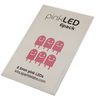 Sparkle Labs 6-Pack LEDs - Pink