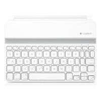 Ultrathin Blutooth Keyboard/Protective Case for iPad 1/2/3 - White