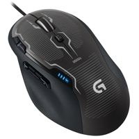 Logitech G500s Laser Gaming Mouse - Black