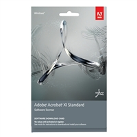 InComm Acrobat XI Standard Download Card (PC)