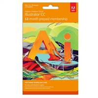InComm Illustrator CS6 - 12 Month Subscription Download Card (PC/Mac)