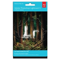 Adobe Lightroom 5 Download Card (PC)