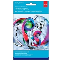 InComm Photoshop CS6 - 12 Month Subscription Download Card (PC/Mac)