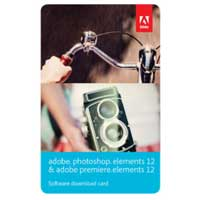 InComm Photoshop & Premiere Elements 12 Bundle Download Card (PC/Mac)