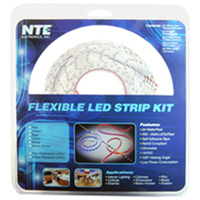 NTE Electronics 16ft LED Strip Kit - Red
