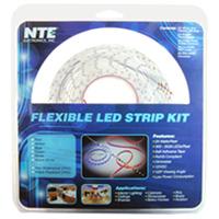 NTE Electronics LED Strip Kit - White