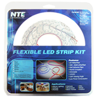 NTE Electronics Flexible LED Strip Kit