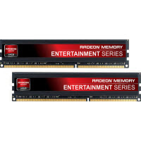 AMD Radeon Entertainment Series 8GB DDR3-1600 (PC3-12800) CL9 Dual Channel Desktop Memory Kit (Two 4GB Memory Modules) AE38G1609U1K