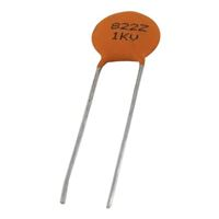 NTE Electronics Ceramic Disc Capacitor - 10PF 1000V 10% Radial Lead