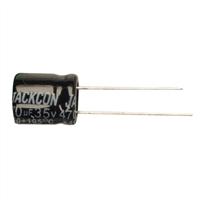 NTE Electronics NEV470M35EF 470PF 35V Aluminum Electrolytic Capacitor