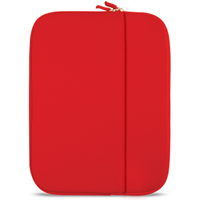 "Travelocity Netbook/Ultrabook/Tablet Sleeve Fits Screens up to 10"" Red"