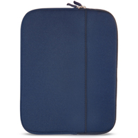 "Travelocity Netbook/Ultrabook/Tablet Sleeve Fits Screens up to 10"" Navy Blue"