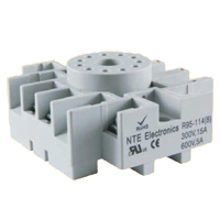 NTE Electronics RELAY SOCKET 11-PIN OCTAL