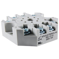 NTE Electronics SOCKET 8 PIN OCTAL 300V