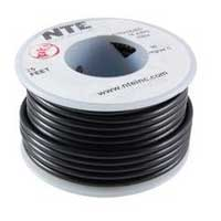 NTE Electronics HOOK UP WIRE 300V BLACK