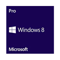 Microsoft Windows 8.1 Professional 64-bit 1-pack English DVD - System Builder Operating System