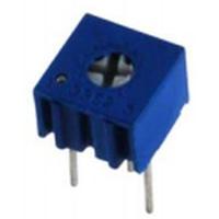 NTE Electronics Trimmer 1MOhm Single Turn Cermet 1/4in Square Top Adjust 10% Tolerance 1/2 Watt Sealed