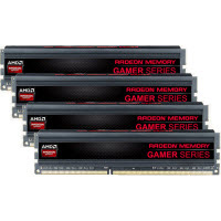 AMD 16GB DDR3-1333 (PC3-1700) Gamer Series Desktop Memory Kit (Four 4GB Memory Modules)