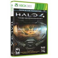 Microsoft Halo 4 GOTY Xbox 360 S English NA NTSC DVD