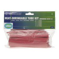 Velleman Heat Shrinkable Tube Kit - Red