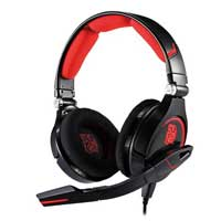 Thermaltake Cronos LED Gaming Headset - Black