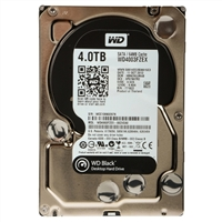 "Western Digital Black 4TB 7,200 RPM SATA 6.0Gb/s 3.5"" Internal Hard Drive WD4003FZEX"