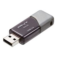PNY Turbo 64GB USB 3.0 Flash Drive P-FD64GTBOP-GE