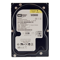"WD 80GB 7,200 RPM PATA (IDE) 3.5"" Internal Hard Drive - Refurbished"