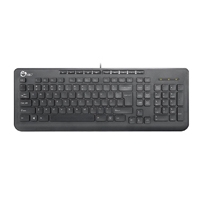 SIIG USB Compact Low Profile Multimedia Keyboard