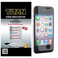 Titan Screen Protectors Extreme Surface Protection Screen Protector for iPhone 4/4S