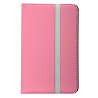 "Inland 7"" Folio Case for Azpen A700/A701 - Hot Pink"