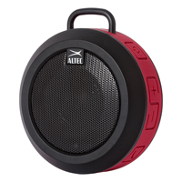 Altec Lansing The Orbit Portable Wireless Bluetooth Speaker Red