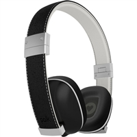 Polk Audio Hinge Headphones with Microphone - Black