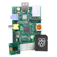 MCM Electronics Raspberry Pi Model B Camera Kit with 8GB O/S Card