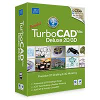 MSI TurboCAD Mac Deluxe 2D/3D v6 (MAC)