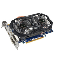 Gigabyte GV-R726XWF2-2GD AMD Radeon R7 260X Overclocked 2048MB GDDR5 PCIe 3.0 x16 Video Card (Rev. 2)
