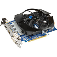 Gigabyte GV-R726XOC-2GD Radeon R7-260X Overclocked 2048MB GDDR5 PCIe 3.0 x16 Video Card