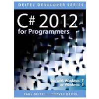 Pearson/Macmillan Books C# 2012 FOR PROGRAMMERS