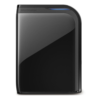 BUFFALO MiniStation Extreme 1TB USB 3.0 Portable Hard Drive - Refurbished