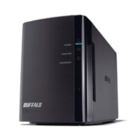 BUFFALO LinkStation Duo 2-Bay 4TB(2 x 2TB RAID Network Attached Storage (NAS) - Refurbished